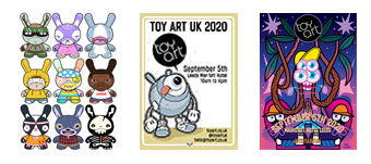 Toy Art UK 2020 – Posters