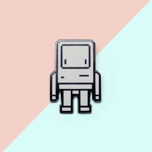 Pixel Classicbot Pin