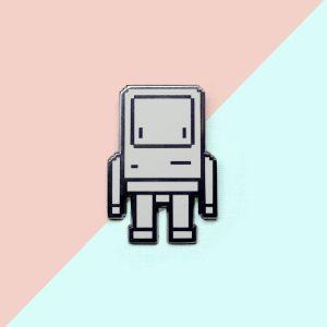 Pixel Classicbot Pin